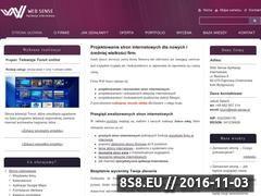 Miniaturka domeny www.web-sense.pl