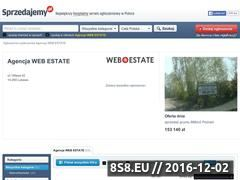 Miniaturka domeny webestate.sprzedajemy.pl