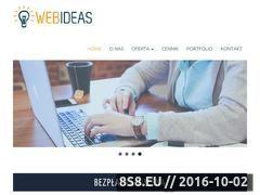 Miniaturka webideas.pl (Tworzenie stron internetowych)