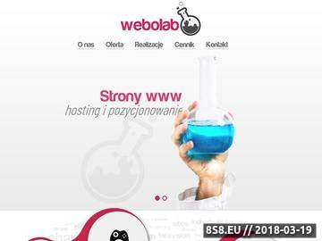 Zrzut strony Webolab - tanie tworzenie stron www - Łodź