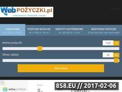 Miniaturka webpozyczki.pl (Porównania produktów finansowych online)