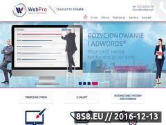 Miniaturka domeny www.webpro.pl