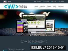 Miniaturka Strony oraz sklepy internetowe (www.websyc.pl)
