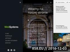 Miniaturka websystems.com.pl (Projektowanie stron internetowych)
