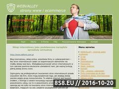 Miniaturka domeny www.webvalley.pl