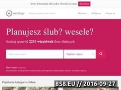 Miniaturka weddo.pl (Zorganizuj ślub i wesele z nami)