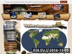 Miniaturka domeny wedrowkizpawlem.pl