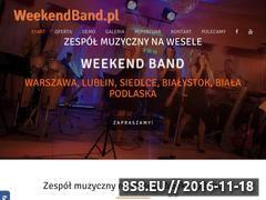 Miniaturka domeny weekendband.pl