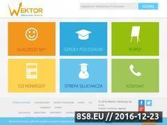 Miniaturka domeny www.wektor.bydgoszcz.pl