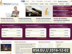 Miniaturka domeny welcomefinance.pl