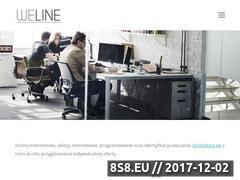 Miniaturka weline.pl (Strony internetowe i sklepy internetowe)