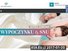 Miniaturka Stylowe wyposażenie sypialni i salonu (www.welovebeds.pl)