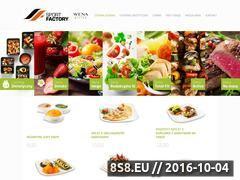 Miniaturka Website z cateringiem dietetycznym w Bydgoszczy (wenabistro.pl)