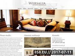Miniaturka domeny www.wersalia.pl