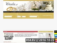 Miniaturka domeny www.wesela.pl