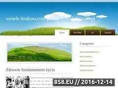 Miniaturka domeny wesele-krakow.com.pl