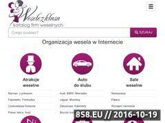 Miniaturka domeny www.weselezklasa.pl