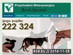 Miniaturka domeny www.weterynarztarnowskiegory.com