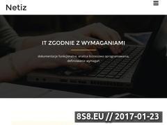 Miniaturka domeny www.wetlina.netiz.pl
