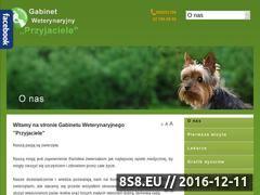 Miniaturka domeny www.wetprzyjaciele.pl