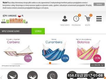 Zrzut strony Internetowa sprzedaż hamaków - WHAMAKu.pl