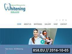 Miniaturka www.whiteningireland.ie (Wybielanie zębów)