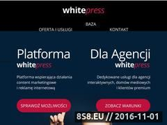 Miniaturka domeny www.whitepress.pl