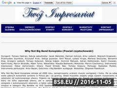 Miniaturka domeny whynotbigbandkonopiska.twoj-impresariat.pl