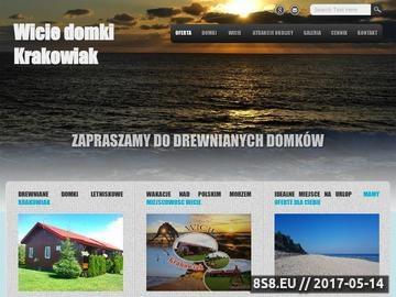 Zrzut strony Wicie domki letniskowe