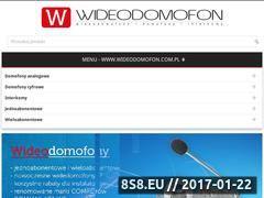 Miniaturka domeny wideodomofon.com.pl
