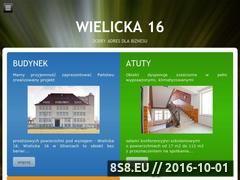 Miniaturka domeny www.wielicka16.pl