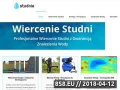 Miniaturka wiercenie.studni.eu (Profesjonalne wiercenie studni i szukanie wody)