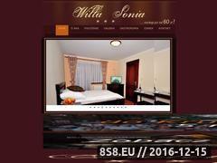 Miniaturka domeny www.willa-sonia.pl