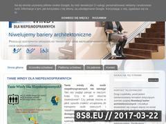Miniaturka windy-dla-niepelnosprawnych.pl (Windy dla niepełnosprawnych)