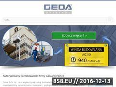 Miniaturka domeny www.windy-geda.pl