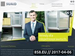 Miniaturka windydlaniepelnosprawnych.com (Windy dla niepełnosprawnych Poznań)