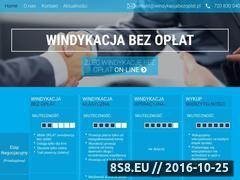 Miniaturka domeny windykacjabezoplat.pl