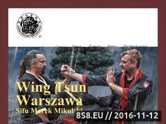 Miniaturka www.wing-tsun.pl (Kung Fu Warszawa)