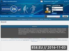 Miniaturka www.winners24.pl (Forum bukmacherskie)