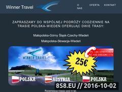 Miniaturka domeny www.winnertravel.com.pl