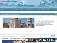 Miniaturka domeny www.wirtualnachorwacja.pl
