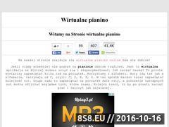Miniaturka www.wirtualnepianino.pl (Wirtualne Pianino)