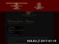 Miniaturka domeny www.wirtualnyadres.com.pl