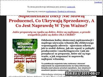 Zrzut strony Witaminy,suplementy i odżywki - poradnik polskiego konsumenta