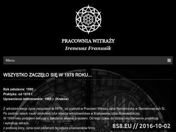 Zrzut strony Kompleksowe wytwarzanie i renowacja witraży