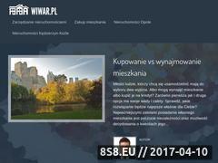 Miniaturka domeny www.wiwar.pl