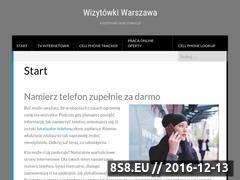 Miniaturka domeny www.wizytowki-warszawa.pl