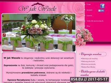 Zrzut strony Zaproszenia ślubne
