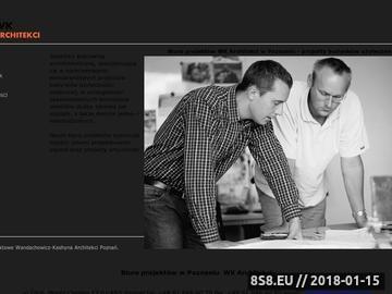 Zrzut strony Biuro Projektowe Wandachowicz-Kashyna Architekci Poznań
