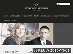 Miniaturka domeny wkadwokaci.pl
